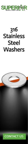 316 Stainless Steel Washers - Banner Ad - 120x600