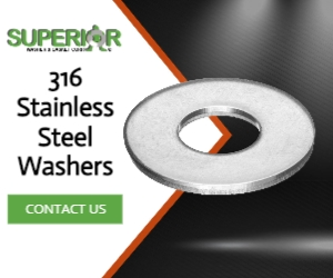 316 Stainless Steel Washers - Banner Ad - 300x250