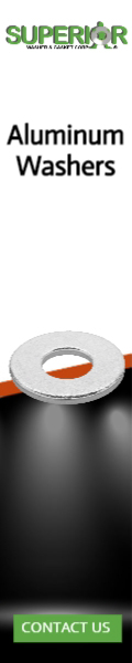 Aluminum Washers - Banner Ad - 120x600