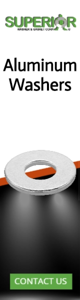 Aluminum Washers - Banner Ad - 160x600