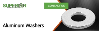 Aluminum Washers - Banner Ad - 320x100