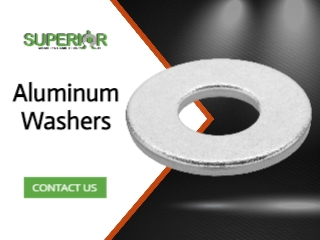 Aluminum Washers - Banner Ad - 320x240