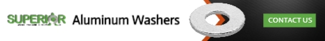 Aluminum Washers - Banner Ad - 468x60