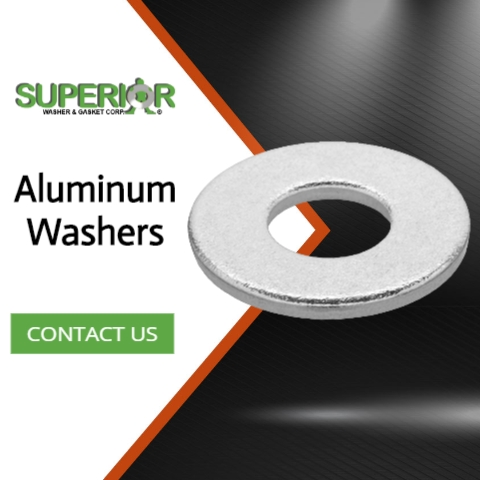 Aluminum Washers - Banner Ad - 480x480