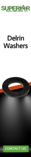 Delrin Washers - Banner Ad - 120x600