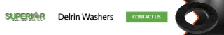 Delrin Washers - Banner Ad - 320x50
