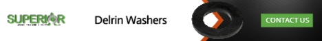 Delrin Washers - Banner Ad - 468x60
