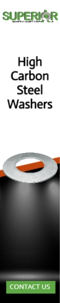 High Carbon Steel Washers - Banner Ad - 120x600