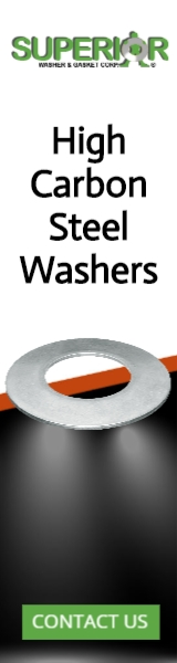 High Carbon Steel Washers - Banner Ad - 160x600