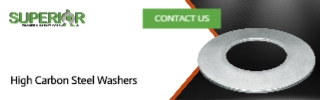 High Carbon Steel Washers - Banner Ad - 320x100