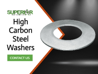 High Carbon Steel Washers - Banner Ad - 320x240