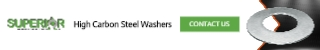 High Carbon Steel Washers - Banner Ad - 320x50