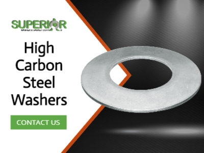 High Carbon Steel Washers - Banner Ad - 400x300