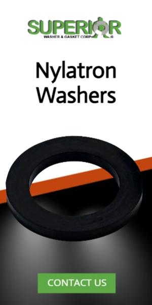 Nylatron Washers - Banner Ad - 300x600
