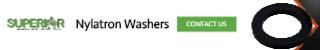 Nylatron Washers - Banner Ad - 320x50