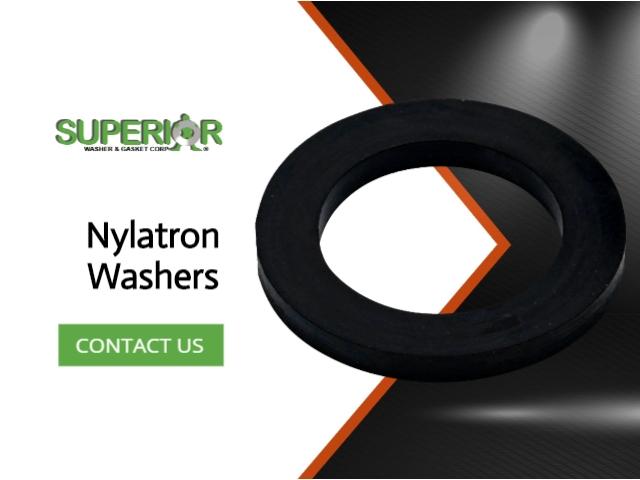 Nylatron Washers - Banner Ad - 640x480