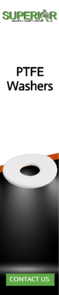PTFE Washers - Banner Ad - 120x600