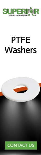 PTFE Washers - Banner Ad - 160x600