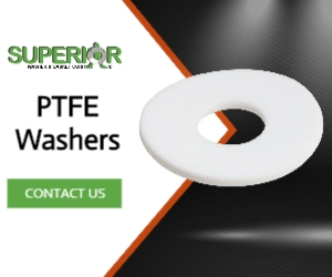 PTFE Washers - Banner Ad - 300x250