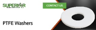 PTFE Washers - Banner Ad - 320x100