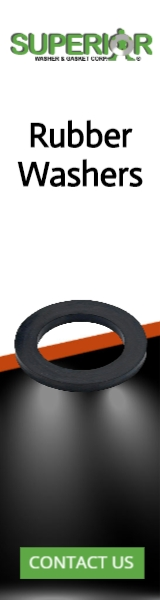 Rubber Washers - Banner Ad - 160x600