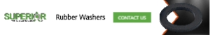 Rubber Washers - Banner Ad - 300x50
