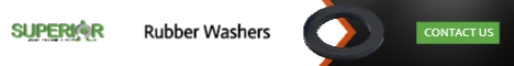 Rubber Washers - Banner Ad - 468x60