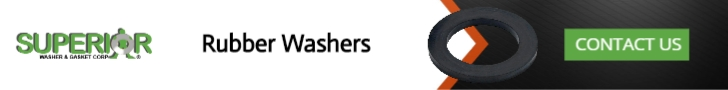 Rubber Washers - Banner Ad - 728x90