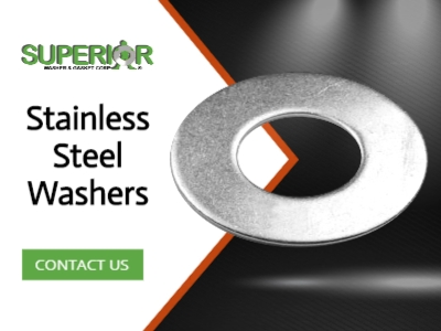 Stainless Steel Washers - Banner Ad - 400x300