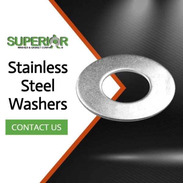 Stainless Steel Washers - Banner Ad - 600x600