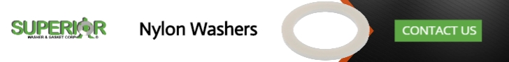 Nylon Washers - Banner Ad - 728x90